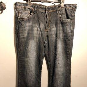 "Buffalo David Bitton ""KING"" slim boot men's jeans"